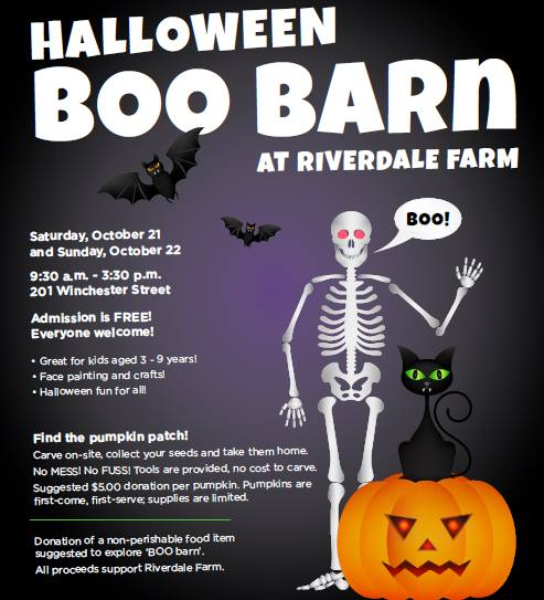 Riverdale Farm's Halloween Boo Barn, Toronto-October 2017